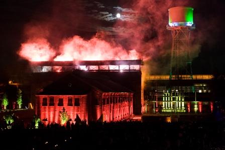 ExtraSchicht 2008 Bochum jahrhunderthalle