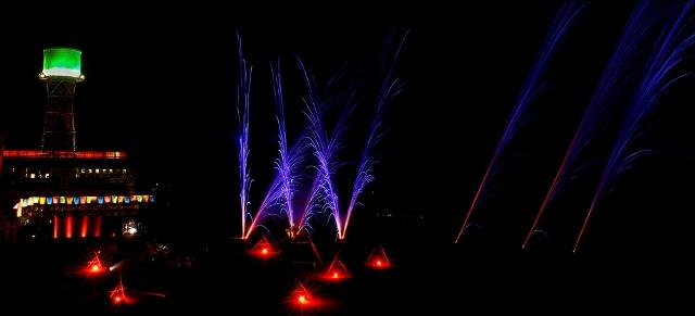trommelfeuerwerk extraschicht 2011 Jahrhunderthalle Bochum