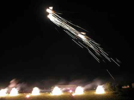 deltas mit sonnen auf pattberg Drachenfest des KVR, Drachen- und Pyroperformance auf der Halde Pattberg